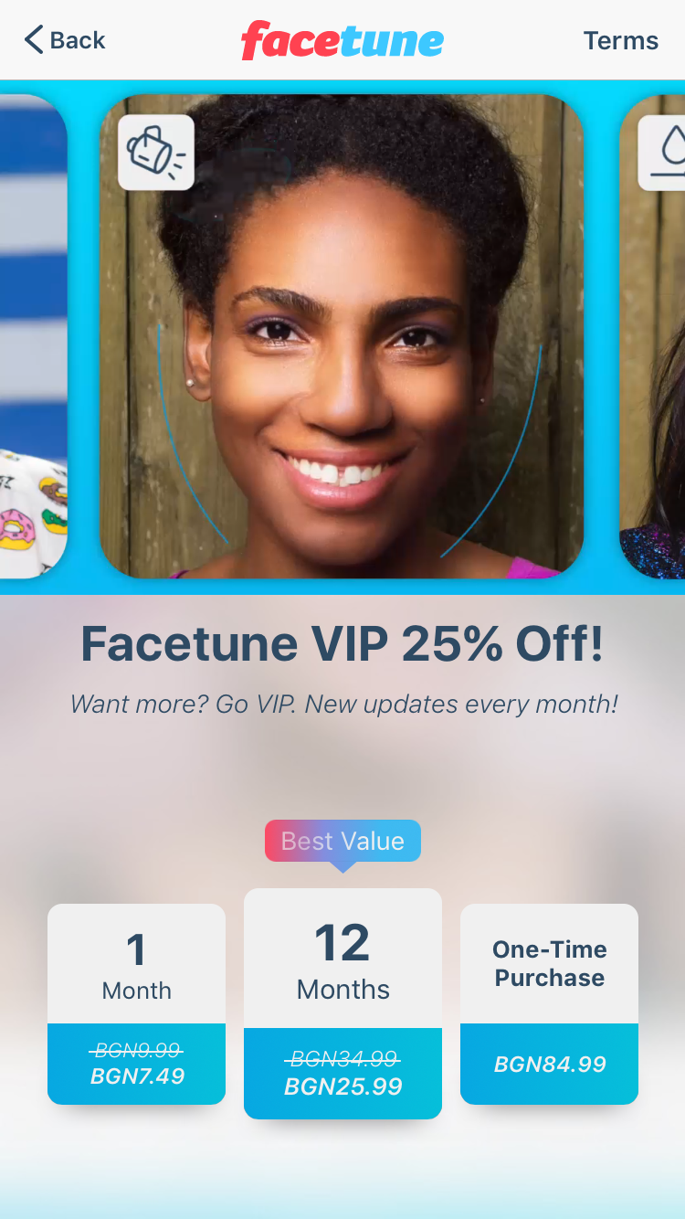 Facetune Vip Access